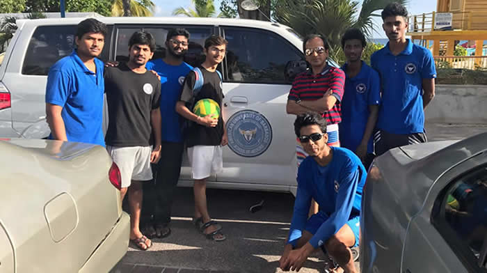 Volleyball Match at Dovers Beach Volleyball Court 2017