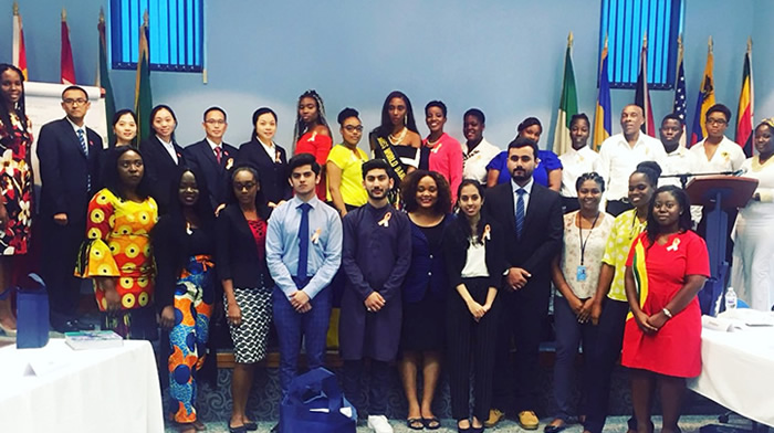 AUB Students participate in the United Nations International NCD seminar
