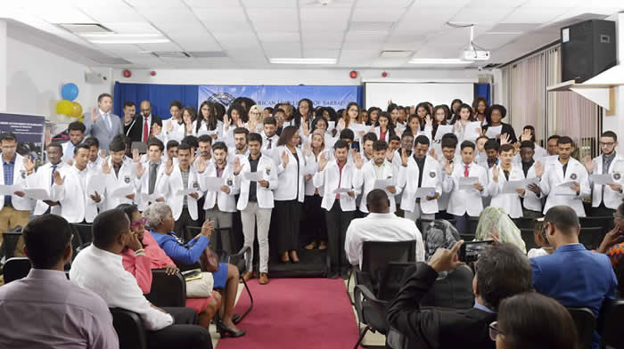 American University of Barbados – White Coat Ceremony –September 28th, Barbados